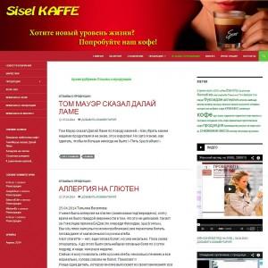 Бизнес-сайт партнера компании Sisel
